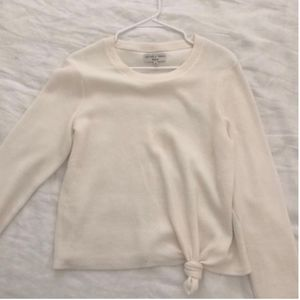 Madewell Knot Top